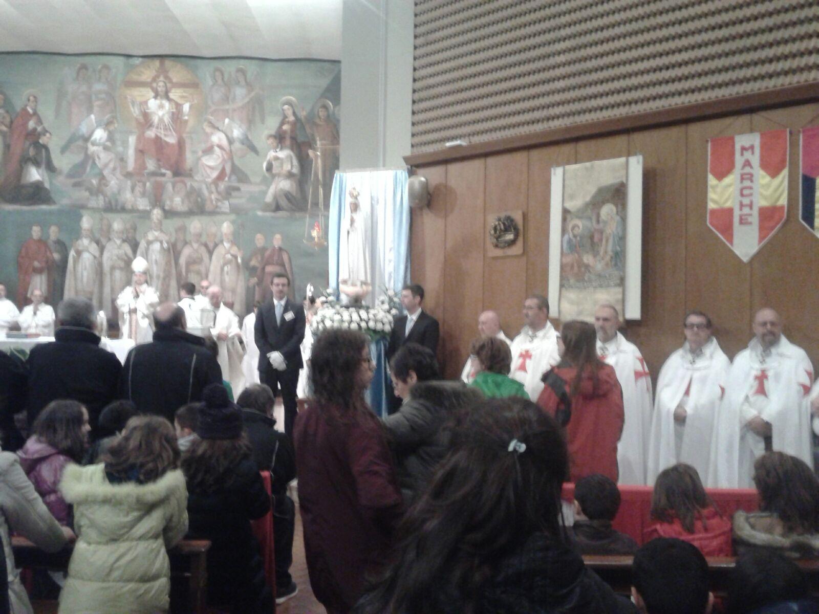 Nasza Pani Pielgrzymka z Fatimy w Vigevano z Mons. Stefano di Mauro