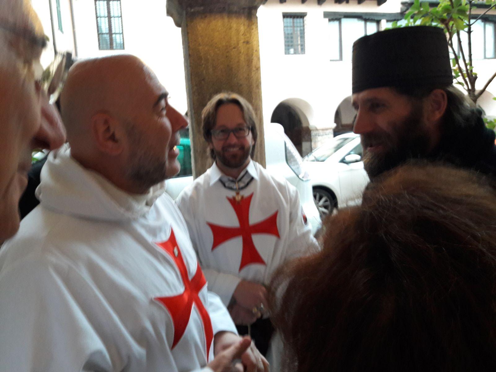 Verona San Fermo Templari Cattolici d'Italia sacra Sindone