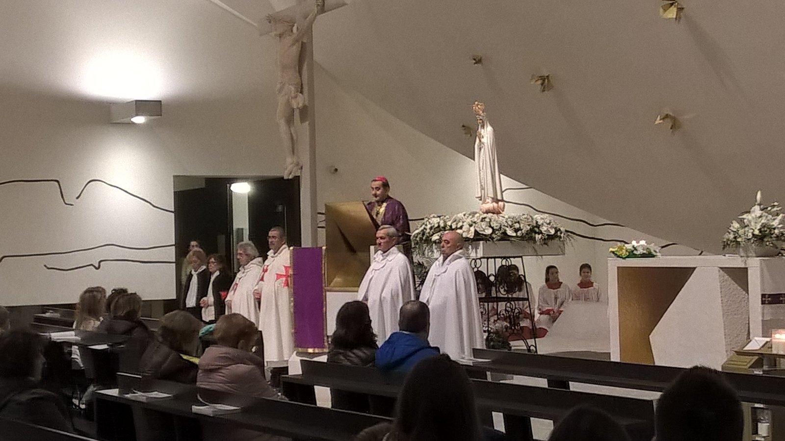 Matka Boża Pielgrzymka z Fatimy w Trezzano sul Naviglio z Mons. Mario Delpini.